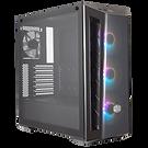 Cooler Master MasterBox MB520 ARGB Mid Tower 2 x USB 3.0 Edge-to-Edge