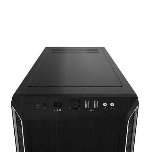 Be Quiet! Pure Base 600 Gaming Case, ATX, No PSU, 2 x Pure Wings 2 Fans, Silver