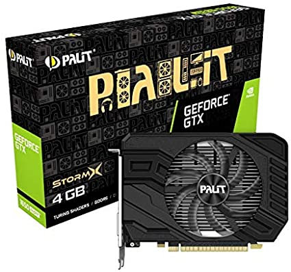 Palit GTX1650 SUPER StormX, 4GB DDR6, DVI, HDMI, DP, 1725MHz Clock