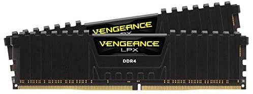 Corsair Vengeance LPX 16GB Kit (2 x 8GB), DDR4, 3200MHz (PC4-25600), CL16, XMP 2