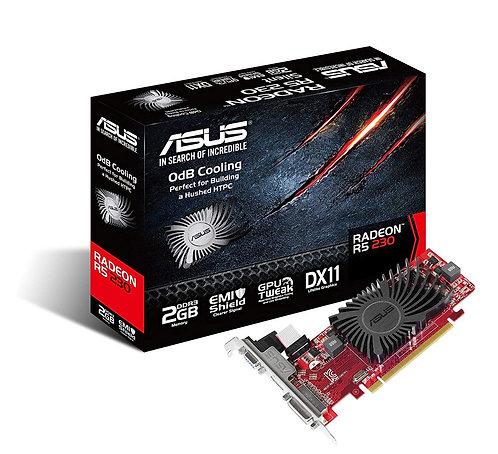 Asus Radeon R5 230, 2GB DDR3, PCIe2.1, VGA, DVI, HDMI, 650MHz Clock