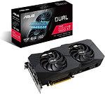 Asus ROG DUAL RX5600 XT EVO, 6GB DDR6, PCIe4, HDMI, 3 DP, 1770MHz Clock, 0dB Tec