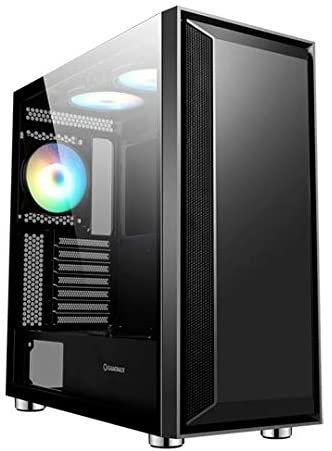 GameMax Stealth Gaming Case 3x ARGB Fan+Hub+MB Sync TG Side Panel
