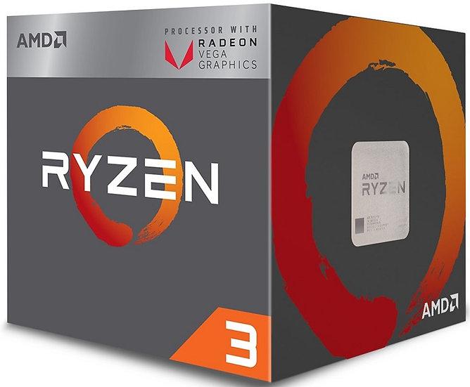 AMD Ryzen 3 2200G with Radeon RX Vega 8 Graphics 3.5GHz Quad Core