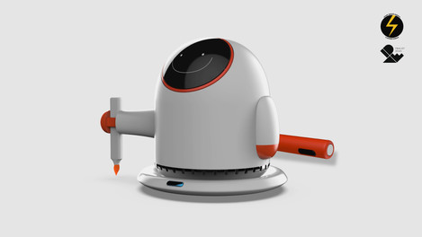 YiPi | drawing robot for children with dyspraxia