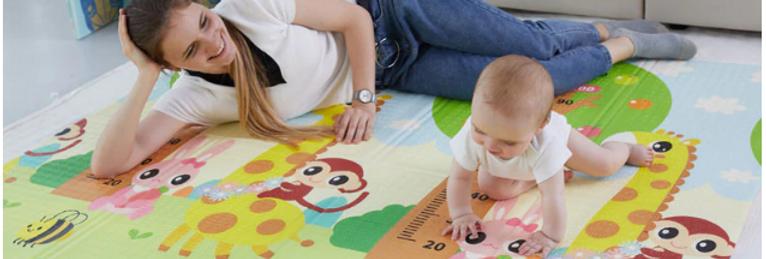 משטח פעילות לתינוק וילד - מתקפל ונוח לשימוש דגמי 2020