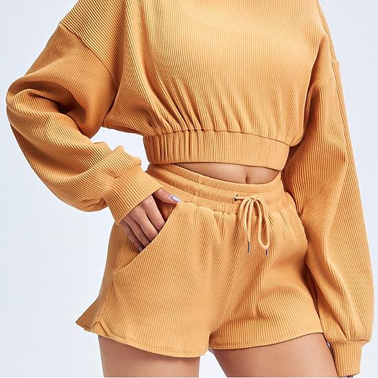 חליפת טרנינג קצר - דגם מילן