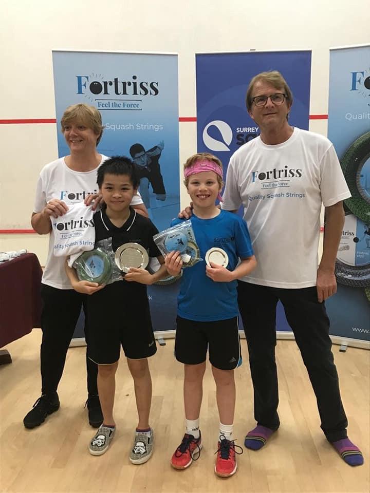ASTC at Surrey Junior Open