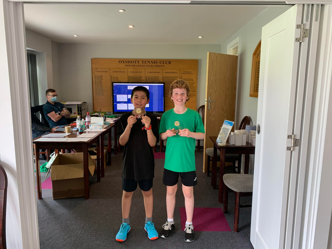 Oxshott Junior Open tournament results