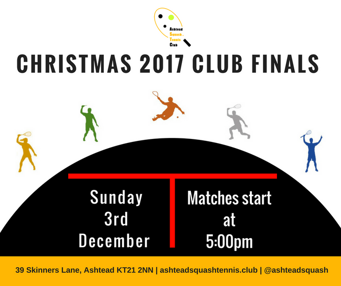 3rd December -Club finals night