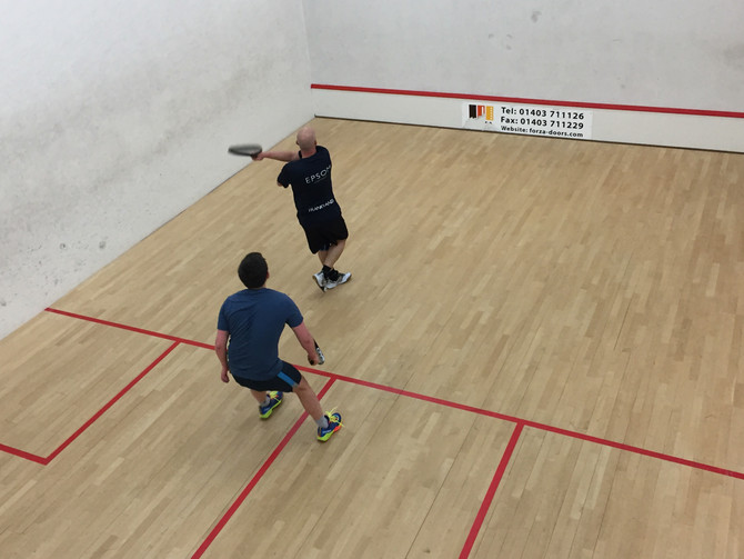 Racketball 1 take on Nuffield 1