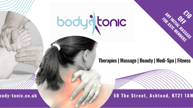 Sports Massage at Body Tonic
