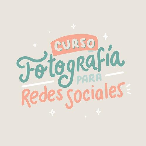 Curso de fotografía y edición para tus redes sociales | Principiantes