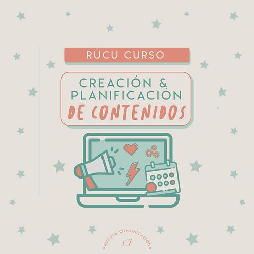 Curso: creación y planificación de contenidos
