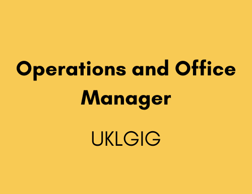 Operations and Office Manager - UKLGIG (UK Lesbian & Gay Immigration Group)