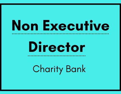 Non-Executive Director - Charity Bank