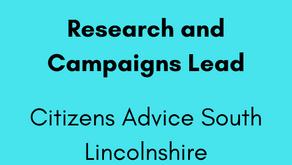 Research and Campaigns Lead - Citizens Advice South Lincolnshire