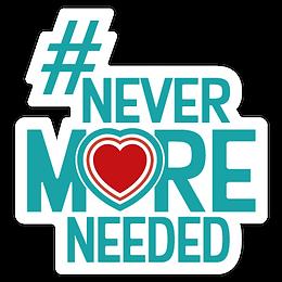 #NeverMoreNeeded