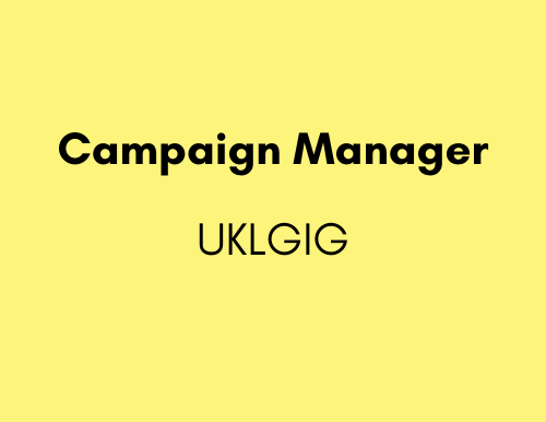 Campaigns Manager - UKLGIG (UK Lesbian & Gay Immigration Group)