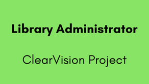 Library Administrator - ClearVision Project