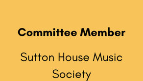 Committee Member - Sutton House Music Society
