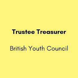 Trustee Treasurer - British Youth Council