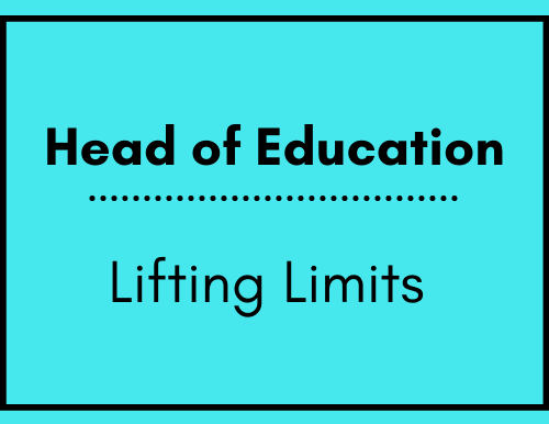 Head of Education - Lifting Limits
