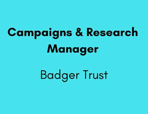 Campaigns & Research Manager - Badger Trust