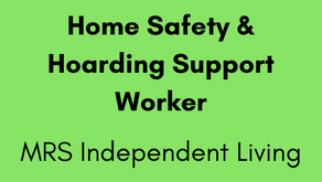 Home Safety & Hoarding Support Worker - MRS Independent Living