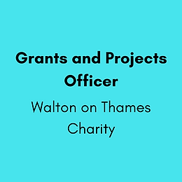 Grants and Projects Officer - Walton on Thames Charity