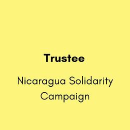 Trustee - Nicaragua Solidarity Campaign