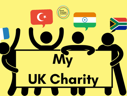 Support for your charity in your community language