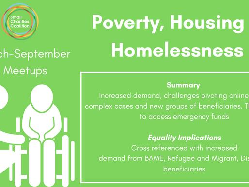 Poverty, Housing & Homelessness Meetup - March - September Meetup