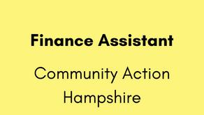 Finance Assistant - Community Action Hampshire