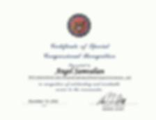 Adam Schiff Certificate to Brand Surgica