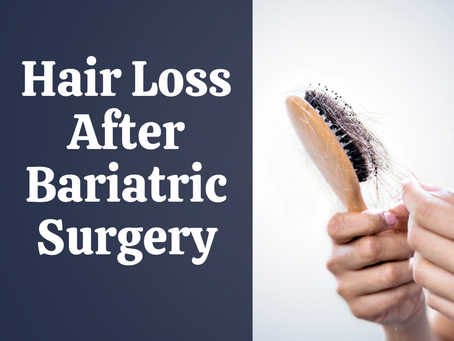 Hair Loss after Weight-Loss Surgery