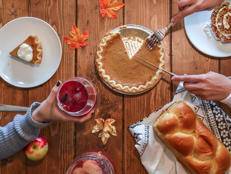 10 Important Tips to Help You Stay Healthy During Thanksgiving!