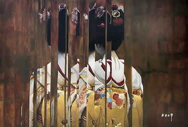Edgar Garcia Ruesga - Geisha (Oil) BEST.