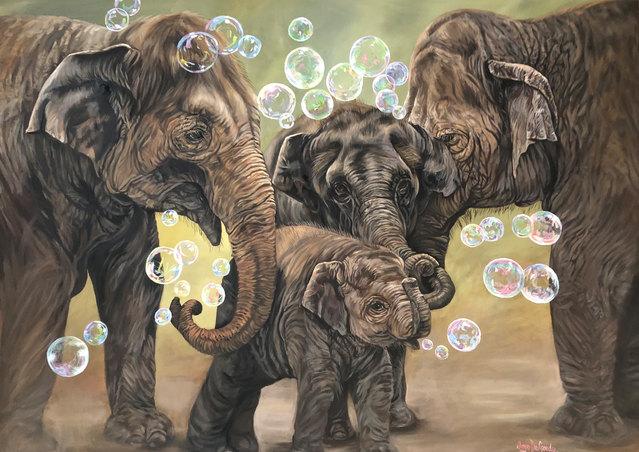 Never Forget Family ©JoyEful Party Animals®