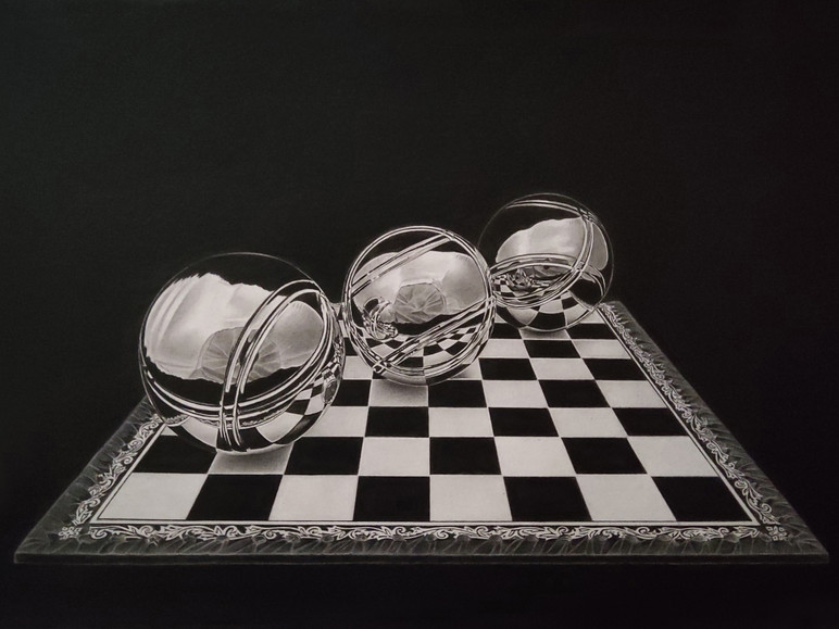 Paco Martín - Gold Award of Excellence in Drawing