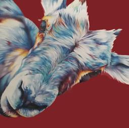 4. BRONZE Traci Zajaczkowski - Checking In Colored Pencil & Acrylic.jpg