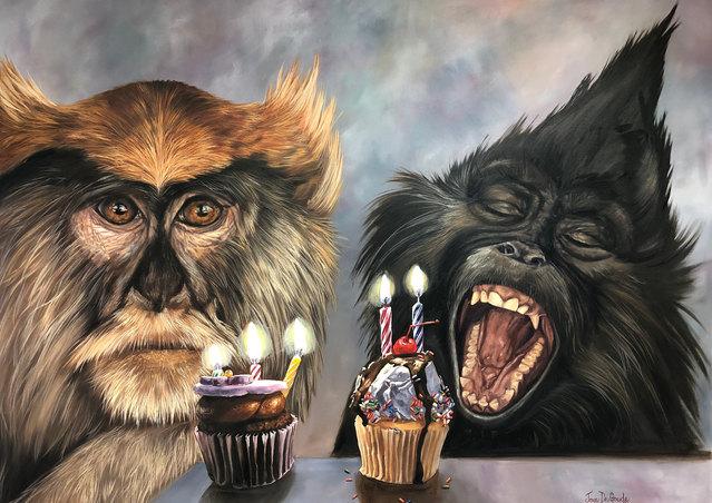 You Look Like A Monkey ©JoyEful Party Animals®