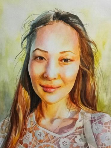 """AWARD OF EXCELLENCE"" Muratova Valeriya for ""The Southern Sun"""