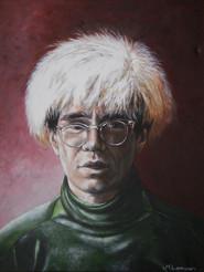 """FINALIST"" Martina Lomas for ""Andy Warhol"""