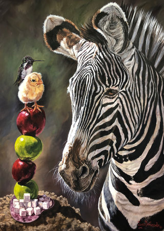 Sweet Tweets ©JoyEful Party Animals® Joye DeGoede