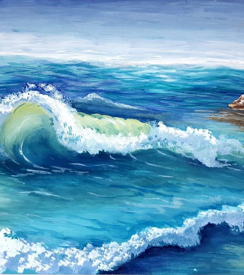 """FINALIST"" Aidana Meirambek for ""Wave"""