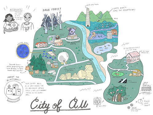 City of All Poster