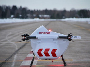 Drone delivery to remote areas heats up during COVID-19