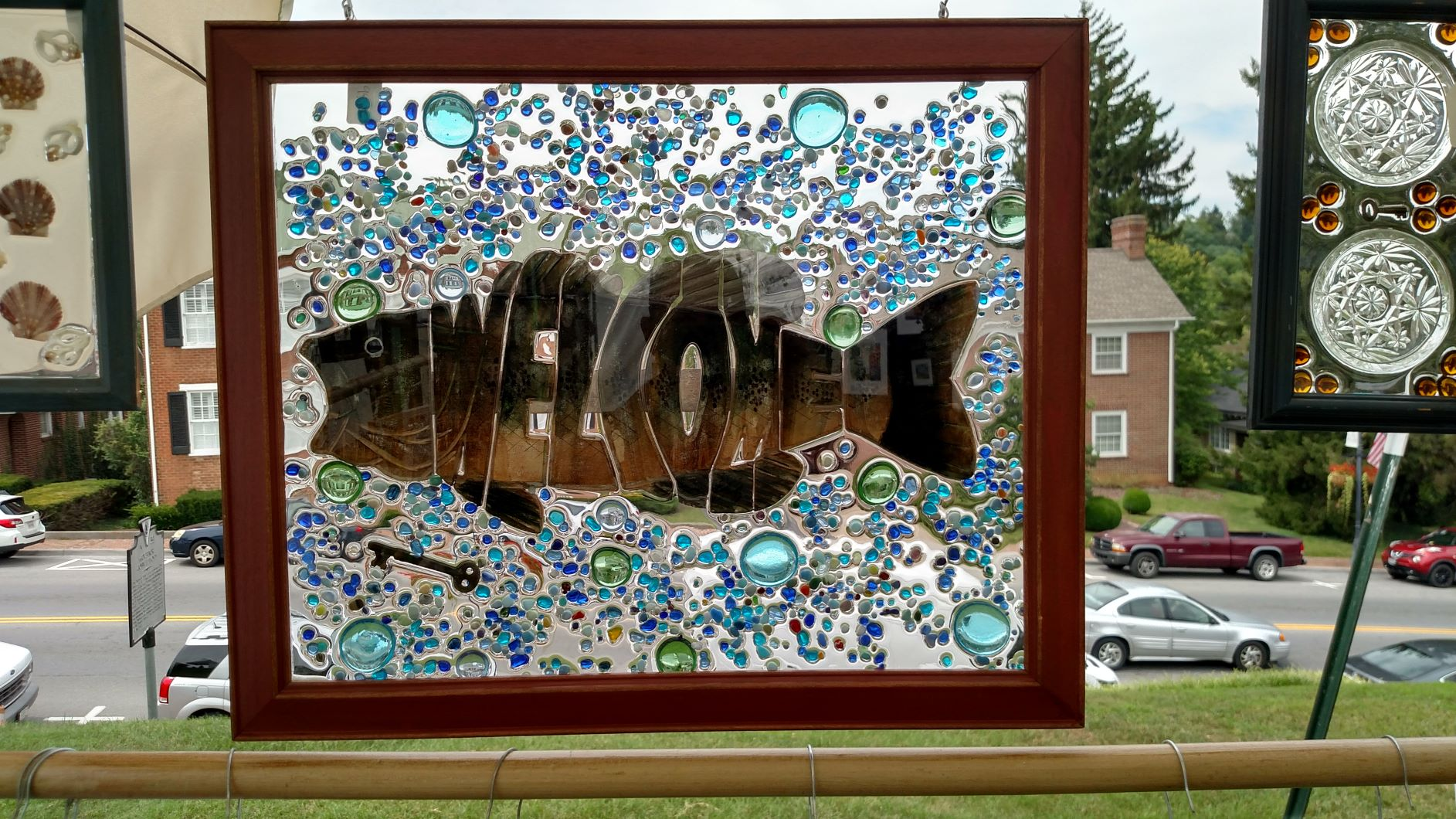Wooden Fish Frame