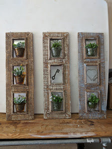 Rustic Frames with Succulents